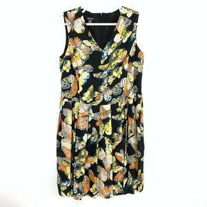 Nine West Butterfly Dress Plus Size 18 Sleeveless